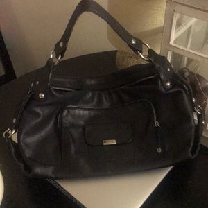 Tod's Black Leather Purse!